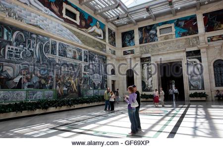 Diego rivera mural detroit institute of arts detroit for Diego rivera mural detroit