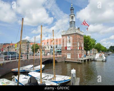Accijnstoren Alkmaar Holland, built in 1622 - Stock Photo
