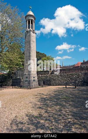 Southampton, Mayflower Memorial, Hampshire, England, - Stock Photo