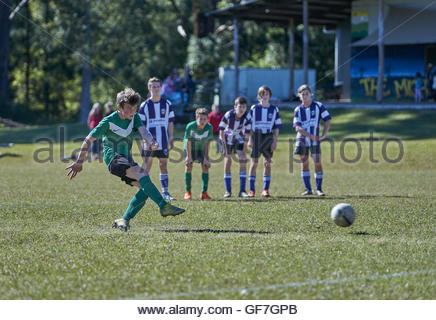 Soccer Player Taking Penalty Kick Stock Photo 78120140