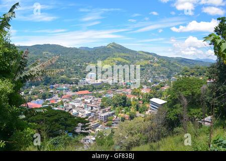Panoramic View Of Kandy City, Sri Lanka - Stock Photo