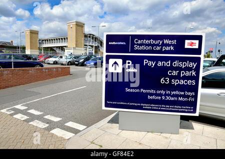 East Grinstead Station Car Park Charges