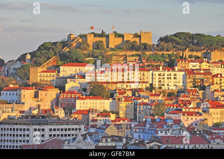 Lisbon old town, Portugal - Stock Photo