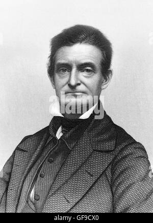The American abolitionist, John Brown (1800-1859). Engraving by J C Buttre - Stock Photo