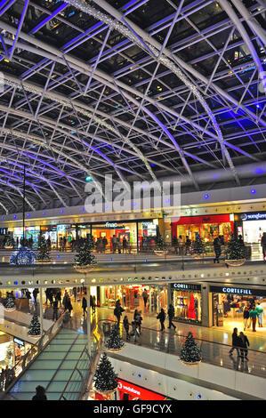LISBON, PORTUGAL - DECEMBER 11: Emporio Armani boutique on Avenida de Liberdad in Lisbon on November 24, 2013. Avenida - Stock Photo