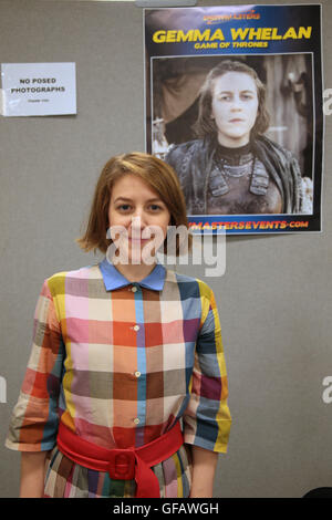 London UK 30 July 2016 Gemma Whelan Englsih actress known for plying Yaara Greyjoy in the HBo series The Game of - Stock Photo