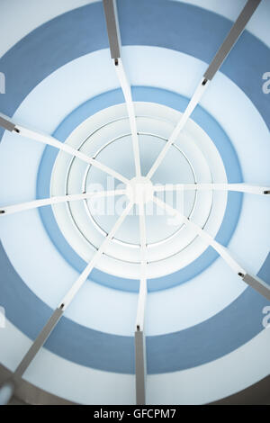 Ceiling of modern mosque - Stock Photo