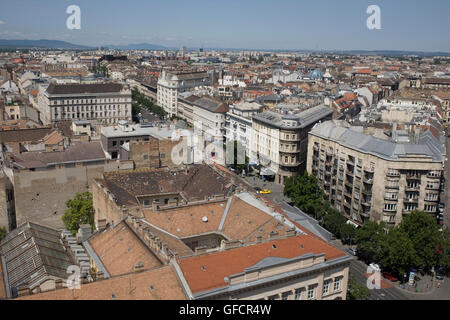 view north north east from St Stephen's basilica - Stock Photo