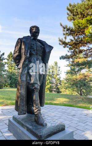Beograd, Belgrade: Statue of Josip Broz Tito at the Museum of Yugoslav History, Serbia, , - Stock Photo