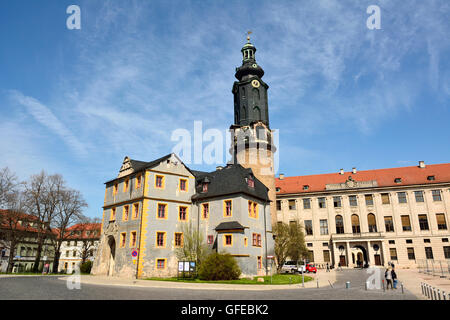 View of Stadtschloss Weimar - Stock Photo