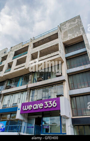 we are 336, 336 Brixton Road, London – a charity providing office space to disabled organisations –  disability - Stock Photo