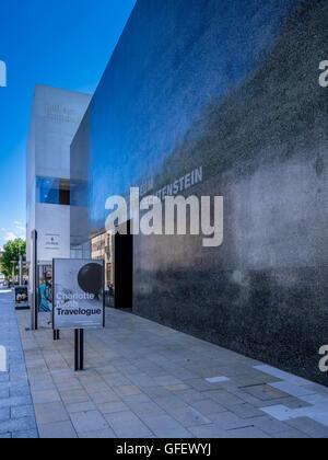 Museum of Art, Vaduz, Principality of Liechtenstein, Europe - Stock Photo