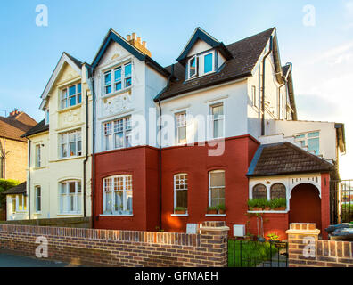 Semi-detached large property in Thirlmere Road Streatham, South west London, England, UK - Stock Photo
