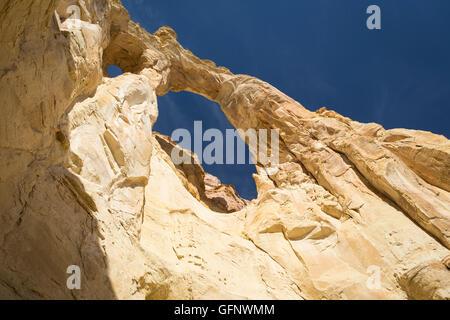 Grosvenor Arch, Grand Staircase Escalante National Monument, Utah - Stock Photo