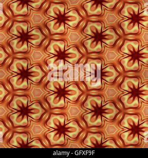Square seamless piece of fabric in classical style for furniture - Stock Photo