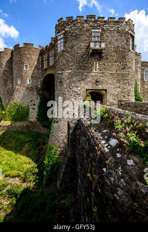 The Constables Gate, Dover Castle, Kent, England - Stock Photo