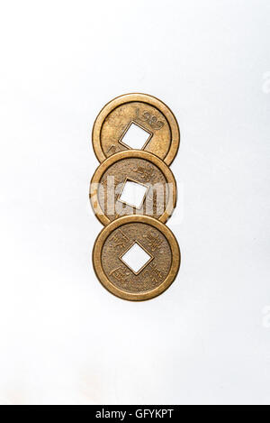 Three Ancient Chinese Coins Stock Photo 28944566 Alamy
