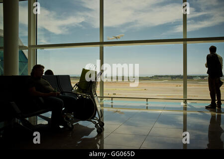 Barcelona, Catalonia, Spain. 7th May, 2013. File Image - Interior view of Barcelona El Prat International Airport - Stock Photo