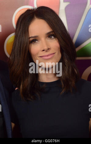 Beverly Hills, CA, USA. 2nd Aug, 2016.  Abigail Spencer. 2016 NBCUniversal Summer Press Tour held at the Beverly - Stock Photo