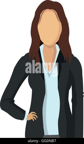 business woman fashion icon - Stock Photo