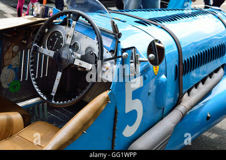 vintage race car front wheel at speed stock photo royalty free image 9623635 alamy. Black Bedroom Furniture Sets. Home Design Ideas