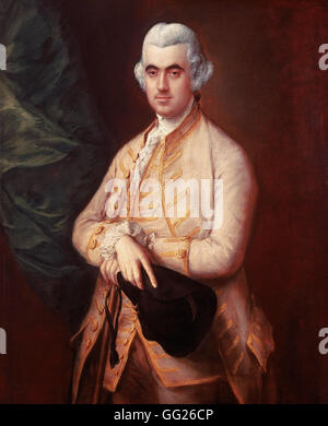 Thomas Gainsborough - Sir Robert Clayton - Stock Photo