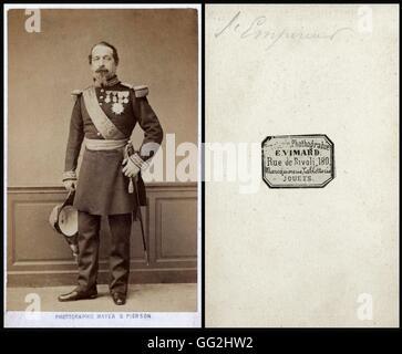 Charles-Louis-Napoléon Bonaparte (1808-1873), Emperor from 1851 to 1870 going under the name of Napoleon III Photo - Stock Photo