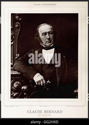 Claude Bernard (1813-1878), french doctor Photo by Valéry - Stock Photo