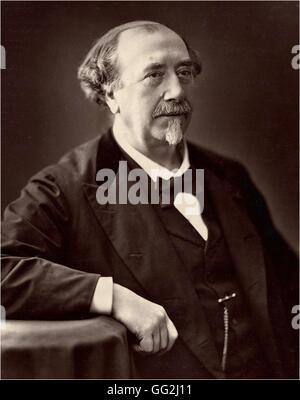 Portrait of Louis Figuier (1819-1894) french writer and scientist Photo by Nadar - Stock Photo