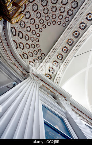 Church  ceiling in Warsaw - Stock Photo