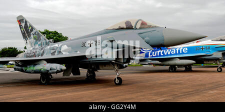 Eurofighter German Air Force 30-29 at  the Royal International air Tattoo 2016 - Stock Photo