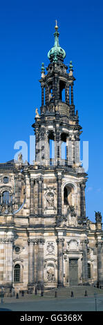 Cathedral of the Holy Trinity, Dresden, Germany - Stock Photo