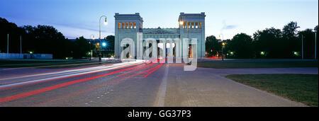 Propylaen Gate, Munich, Germany - Stock Photo