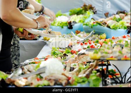 Summer buffet - Stock Photo