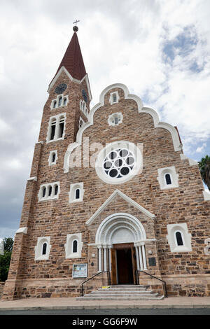 Christus Kirche in Windhoek in Namibia - Stock Photo