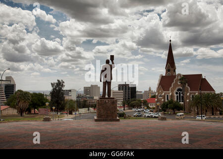 View From National Independence Museum in Windhoek - Namibia - Stock Photo