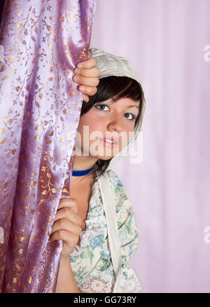 Virgo or Virgin, this photo is part of a series of twelve Zodiac signs of astrology - Stock Photo