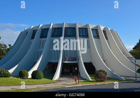 Entrance to The Casino in Funchal, Madeira, Portugal - Stock Photo
