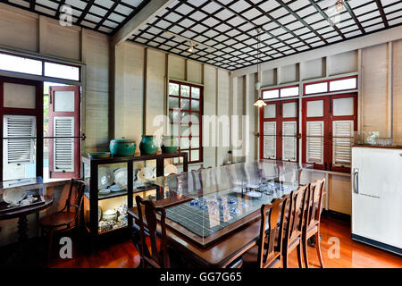 Bangkokian Museum or Bangkok Folk Museum located in Bangrak, Bangkok, Thailand. - Stock Photo