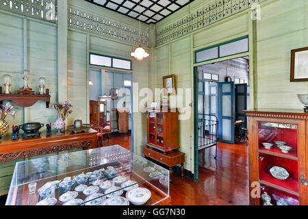 Bangkokian Museum or Bangkok Folk Museum located in Bangrak, Bangkok, Thailand. - Stock Photo
