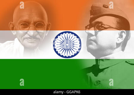 The true patriot. Netaji Subhas Chandra Bose. Indian ...