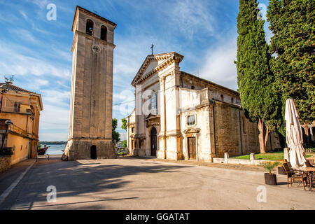Cathedral in Pula city - Stock Photo