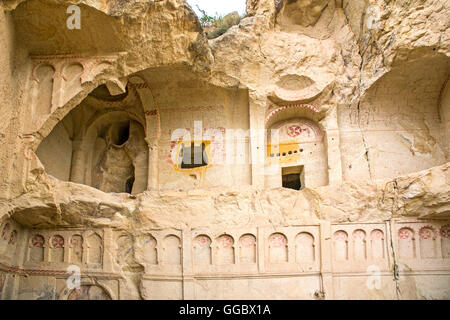 geography / travel, Turkey, Middle East, Cappadocia, Göreme, open-air museum, exterior view, Additional-Rights-Clearance - Stock Photo