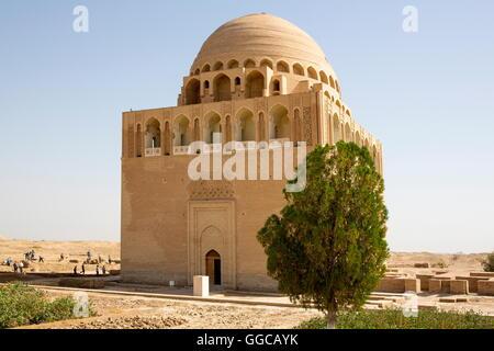 geography / travel, Turkmenistan, Merv, Sultan Sanjar Mausoleum, built 12th century, exterior view, Additional-Rights - Stock Photo