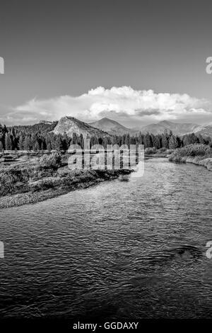 Tuolomne Meadows, Yosemite National Park - Stock Photo