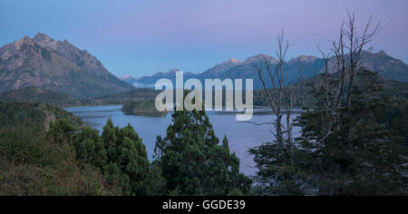 South America; Argentina, Patagonia, Rio Negro, Nahuel Huapi, National Park - Stock Photo