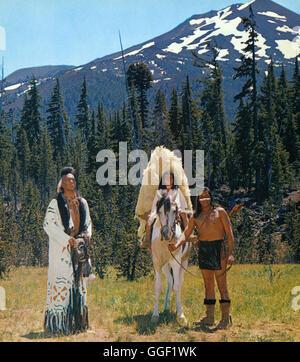 DER WEG NACH WESTEN / The Way West USA 1966 / Andrew V. McLaglen Filmszene aus 'Der Weg nach Westen', 1967. Regie: - Stock Photo