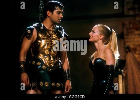 DER SUPER-GURU / USA 2002 / Daisy von Scherler Mayer Ramu (JIMI MISTRY), Sharonna (HEATHER GRAHAM) Regie: Daisy - Stock Photo