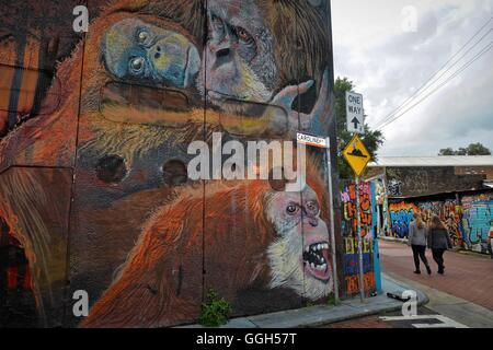 Australia. 06th Aug, 2016. Street art around May Lane in St Peters as part of the 2016 Perfect Match program on - Stock Photo