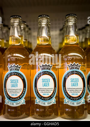 Sussex Lager, Goodwood Revival 2014, Racing Sport, Classic Car, Goodwood, Chichester, Sussex, England, Great Britain - Stock Photo